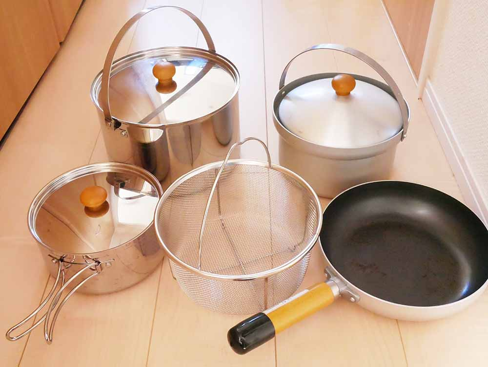 【fan5(ファン5)DXのレビュー】メチャお勧めの鍋セット!収納の仕方も載ってるよ