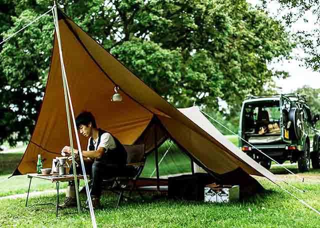 【ヘキサイーズ1】と【フロントポーチ 2P】 【エントリーIGT】と使いたいソロキャンプ用テント
