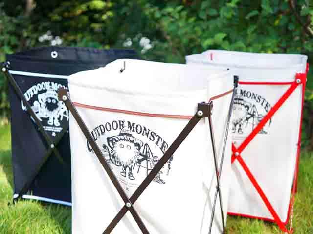 キャンプのゴミ箱でおしゃれに変わる|スーパーの袋は卒業しよう!