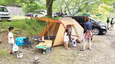 【軌跡7話】アメニティドームで初キャンプだけど…潮干狩り行ったかも