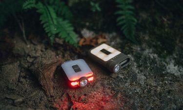 【クレイモアキャップオン】ランタンにもなる充電式ヘッドライトは便利