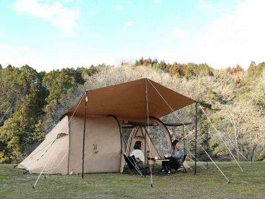 【カマボコテントミニ】絶妙なサイズ感の人気テント。狙いはタンカラー