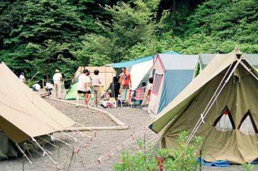 【黒川キャンプ場(静岡市)】お勧めのサイト番号一挙公開!使いづらいサイトは要注意