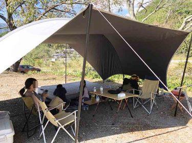 【デイキャンプ】ポカポカ陽気なのに寒かったデイキャンプ